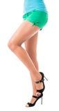 Lovely female legs Stock Image