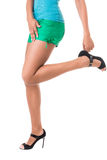 Lovely female legs Royalty Free Stock Photography
