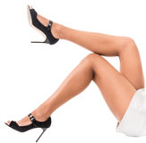 Lovely female legs Stock Photo