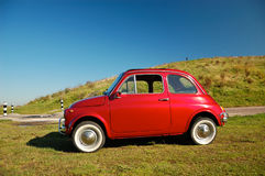 Lovely Fiat  Stock Images