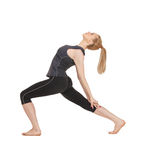 Lovely fitness instructor Royalty Free Stock Photography