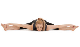 Lovely fitness instructor Royalty Free Stock Images