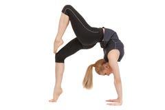 Lovely fitness instructor Stock Photo
