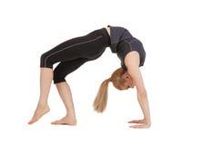 Lovely fitness instructor Stock Image