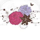 Lovely floral background Stock Photos