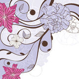 Lovely floral background Royalty Free Stock Photo