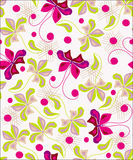 Lovely floral  background   design Stock Photos
