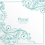 Lovely floral background design Royalty Free Stock Images