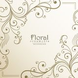 Lovely floral background design illustration Royalty Free Stock Image