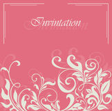 Lovely floral card Royalty Free Stock Photo