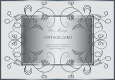 Lovely floral card Stock Photos