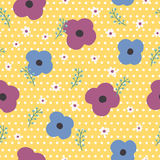 Lovely floral seamless pattern Royalty Free Stock Image
