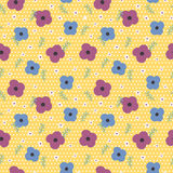 Lovely floral seamless pattern Royalty Free Stock Photos