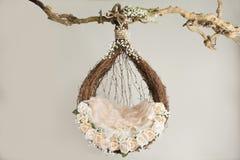 Lovely flower background for newborn baby, concept of newborn ba