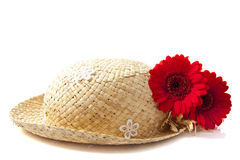 Lovely flower hat Royalty Free Stock Photo