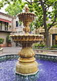 A Lovely Fountain in a Mexican Courtyard Stock Images