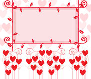 Lovely frame royalty free stock photos