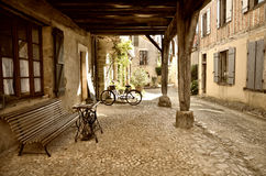 Lovely French village Royalty Free Stock Photography