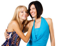 Lovely friends Royalty Free Stock Photos