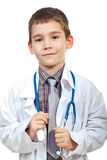 Lovely future doctor Stock Image