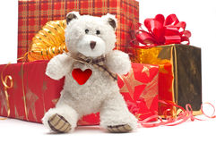 Lovely gifts Royalty Free Stock Image