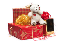 Lovely Gifts Stock Photography