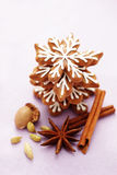 Lovely gingerbreads Royalty Free Stock Photography