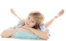 The lovely girl Stock Photo