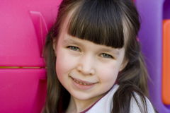 Lovely girl. Young girl royalty free stock images