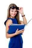Lovely girl in dark glasses Stock Photography