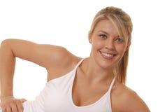Lovely Girl Exercising Stock Photo