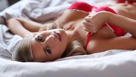 Lovely girl in lingerie Royalty Free Stock Photography