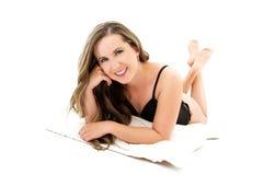 Lovely girl Stock Photos
