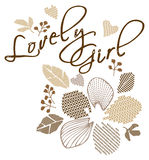 Lovely girl Stock Photo