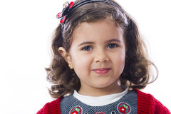 Lovely Girl Smiling royalty free stock photography