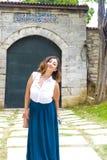 Lovely girl in standing Stock Image