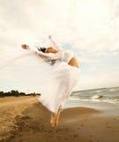 Lovely girl in white Royalty Free Stock Photo
