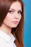 Lovely glamorous young woman portrait. Stock Photography