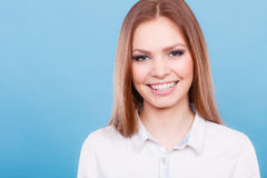 Lovely glamorous young woman portrait. Royalty Free Stock Image