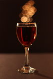 Lovely Glass of Wine Royalty Free Stock Photo