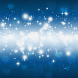 Lovely Glitter Lights Stock Photography