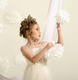 Lovely Greek Girl Royalty Free Stock Photos