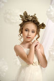 Lovely Greek Girl Royalty Free Stock Photo