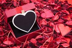 Lovely Heart shape post Stock Photos