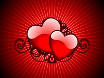 Lovely hearths Stock Photos