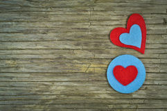 Lovely hearts Royalty Free Stock Photos