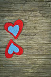 Lovely hearts Royalty Free Stock Photo