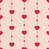 Lovely hearts Pattern Stock Photo