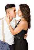 Lovely hispanic couple Royalty Free Stock Photo