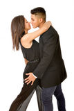 Lovely hispanic couple Stock Image
